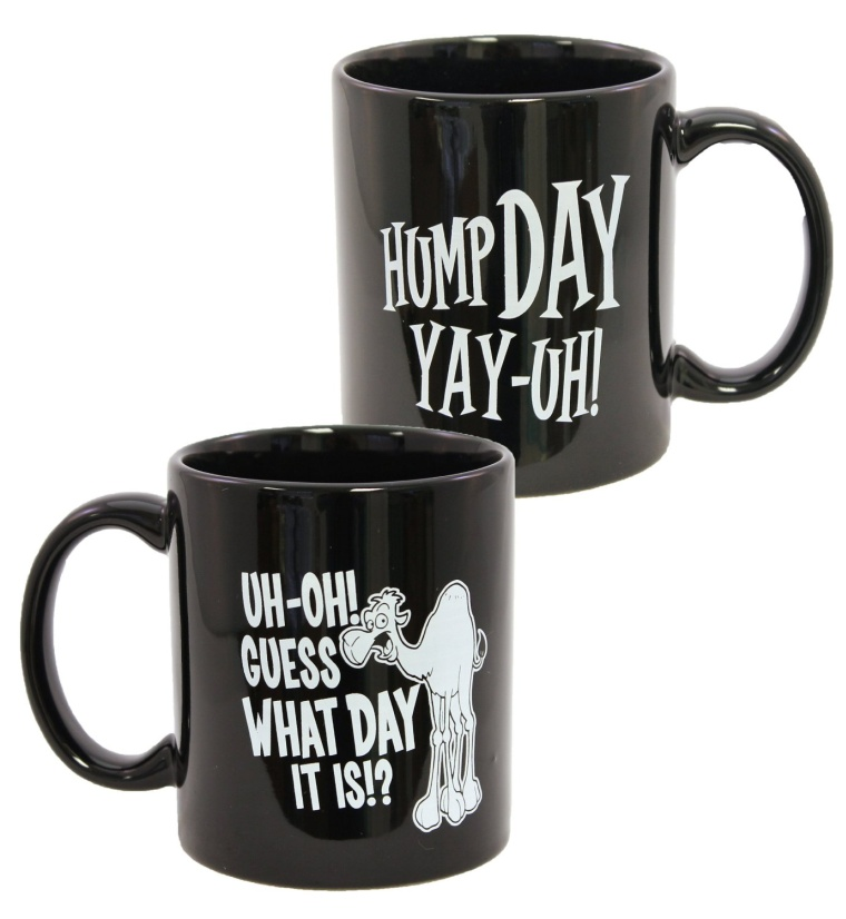 Camel Commercial Hump Day Coffee Mug