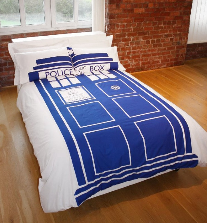 Double Doctor Who Tardis Duvet Set