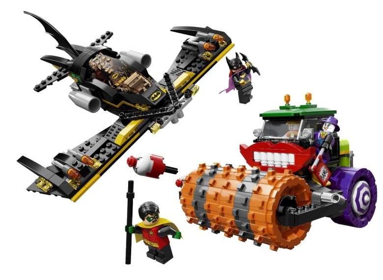 LEGO Batman The Joker Steam Roller