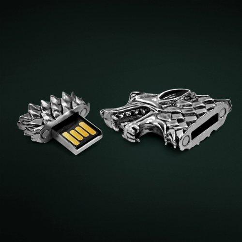 Stark Sigil Direwolf USB Flash Drive