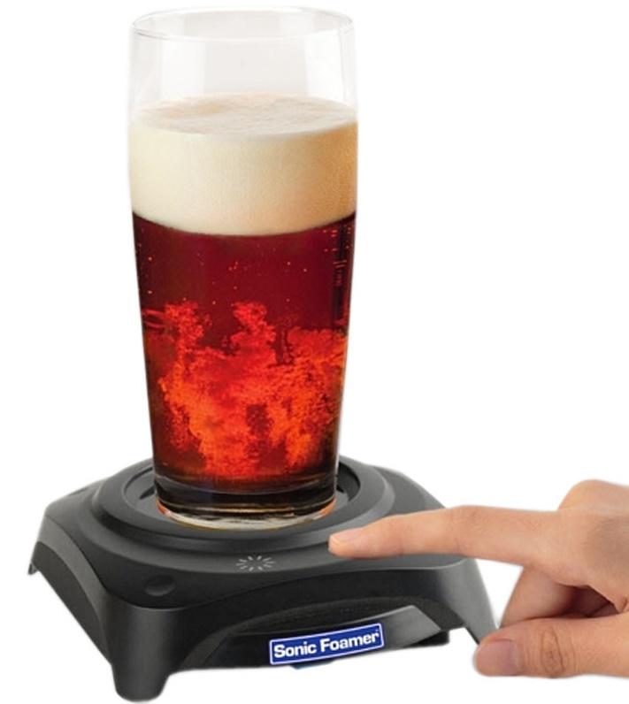 The Ultimate Sonic Foamer that Makes Beer Taste Better