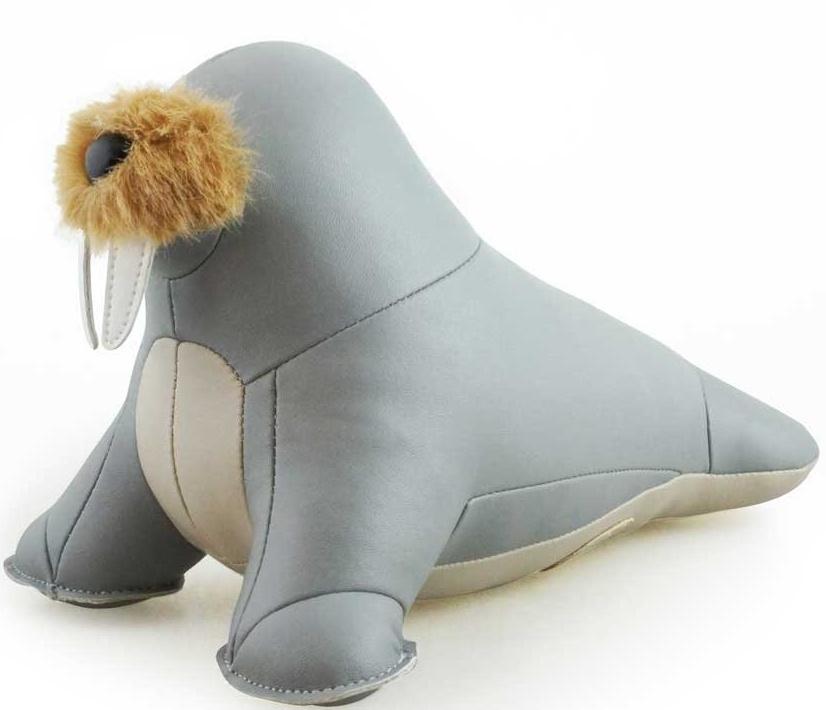 Walrus (Walu) Gray Animal Bookend