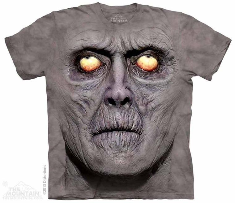 Zombie Portrait The Mountain Tee Shirt Adult