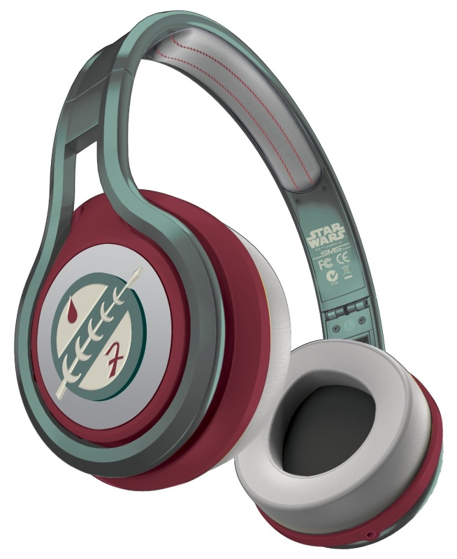 50 First Edition Star Wars On Ear Headphones Boba Fett