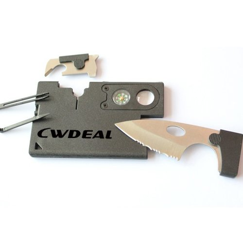 9-in-1 Outdoor Sports Card Knife Shape Camping Pocket