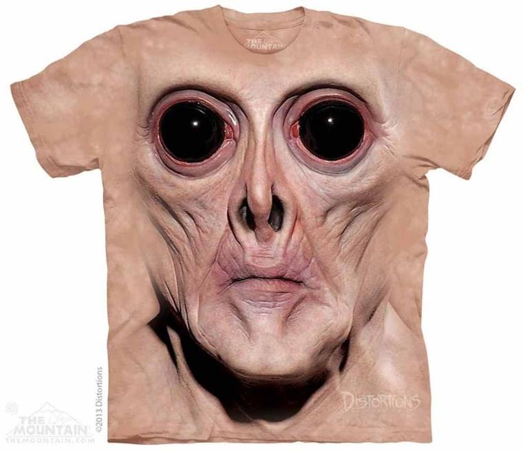 Big Face Krem The Mountain Tee Shirt Adult