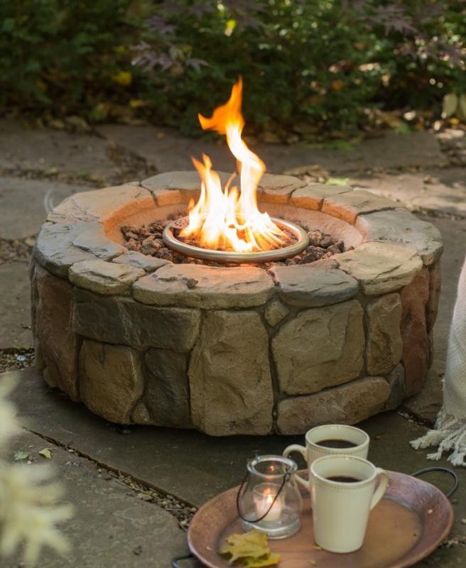 Clarksville Propane Campfire Fire Pit