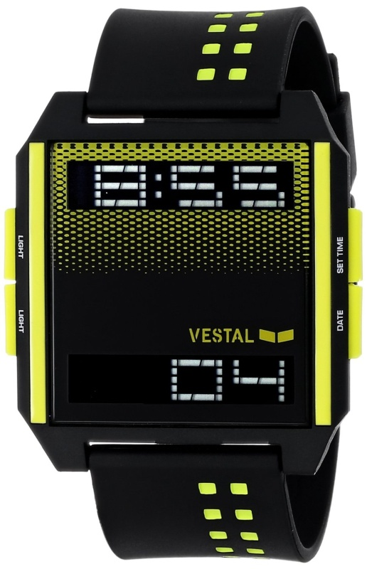 Digichord Digital Display Japanese Quartz Black Watch