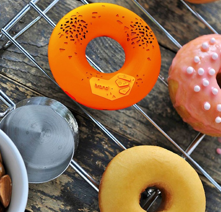 Donut Premium Portable Wireless Bluetooth Speaker with NFC Tag