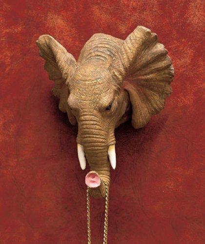 Elephant Giraffe Animal Bust Print Decor Hanging Wall