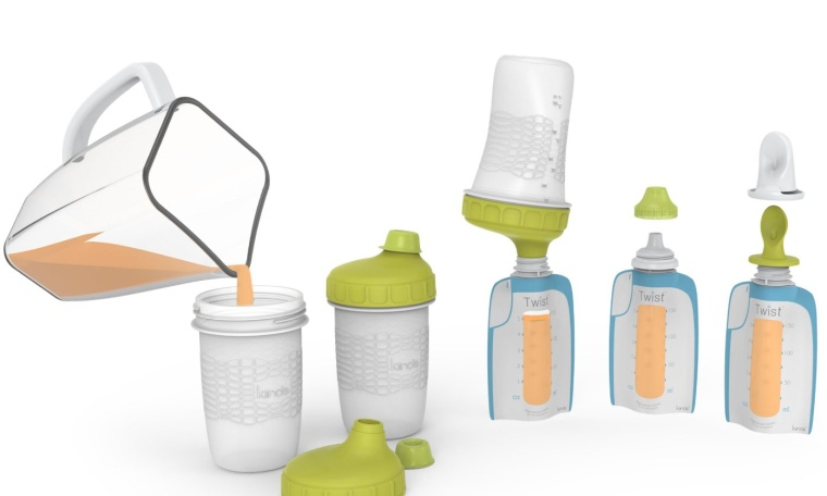 Foodii Squeeze Snack Filling and Feeding Starter Kit