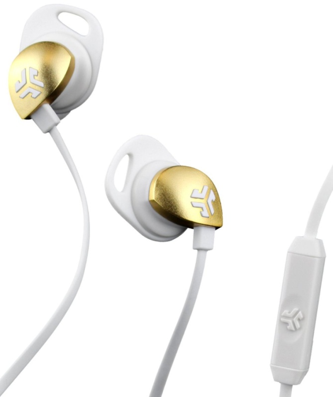 In-Ear Earbuds, WhiteGold