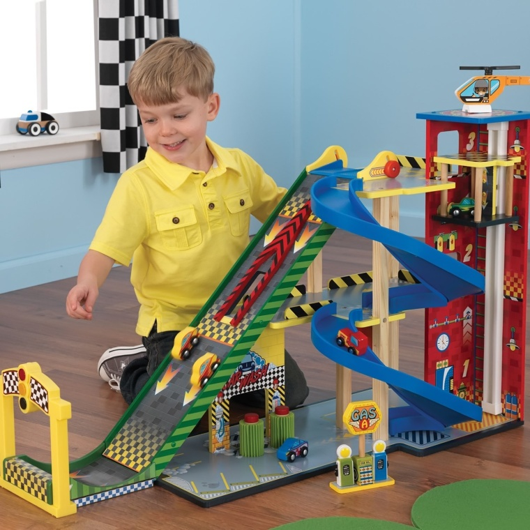 Kids Children Ramp Racing Set