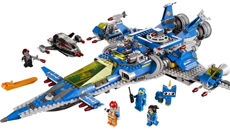LEGO Movie Benny's Spaceship