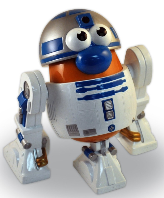Mr. Potato Head Star Wars R2D2 Action Figure