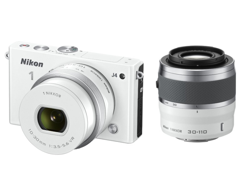 Nikon 1 J4 Digital Camera with 1 NIKKOR 10-30mm f3.5-5.6 PD Zoom Lens