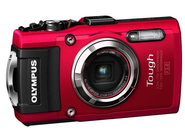 Olympus TG-3 Waterproof 16 MP Digital Camera