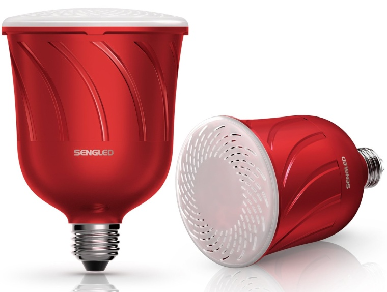 Pulse Dimmable LED Light with Wireless Bluetooth Speakers