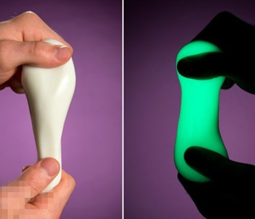 Putty Silicone Golw-in-the-Dark Aura