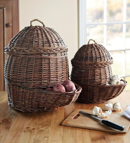Root Vegetable Basket Set