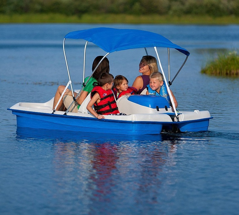 Sun Dolphin Water Wheeler Electric Asl Stainless Pedal Boat