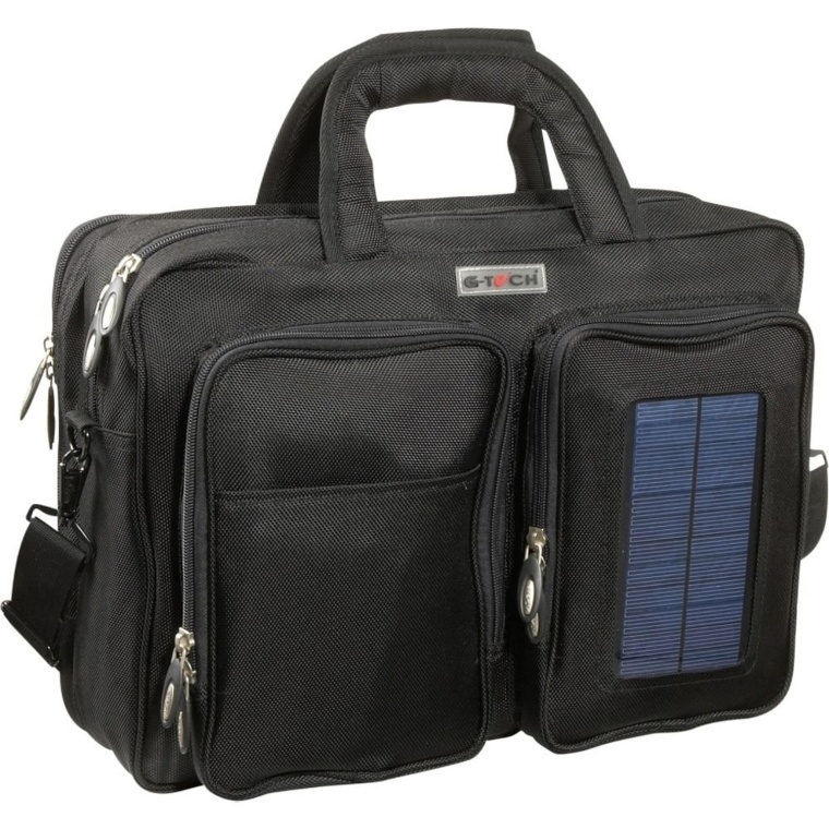 Tech Solar Computer BriefBackpack