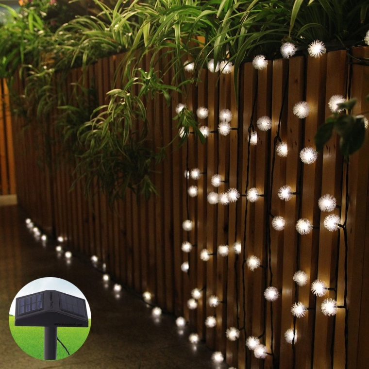 Tech Solar Powered Led String Lights