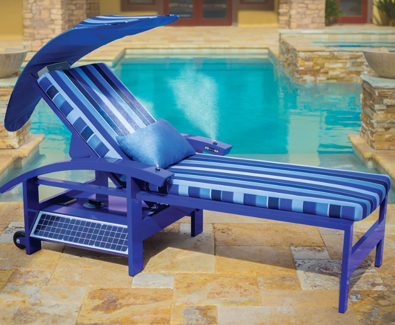 The Solar Powered Entertainment Lounger