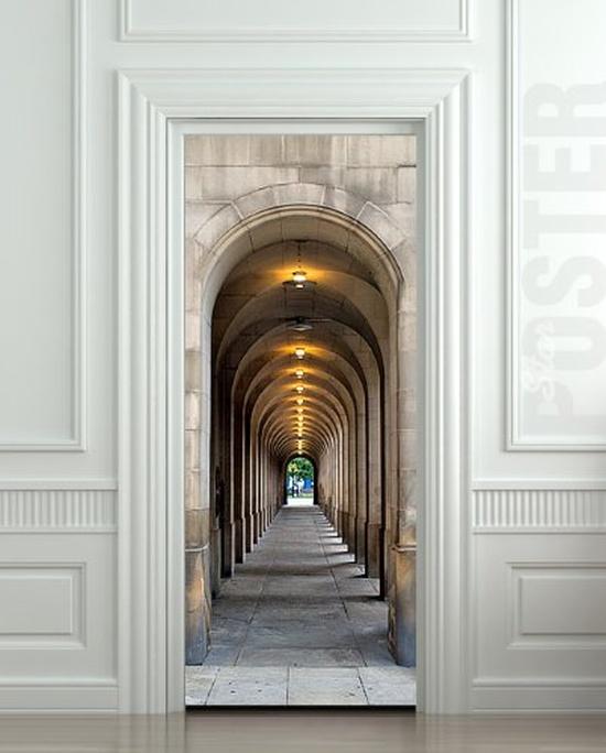 Wall Door STICKER