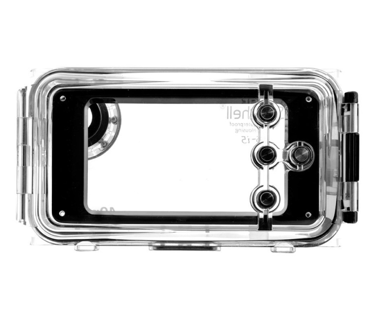 Waterproof Photo Housing 40m130ft Rated Underwater Case for iPhone 5, 5s, 5c