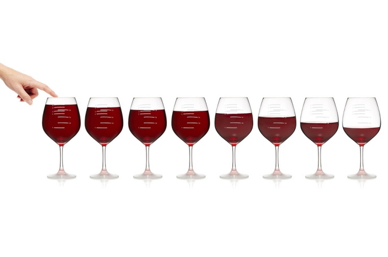 musical wine glasses - party set