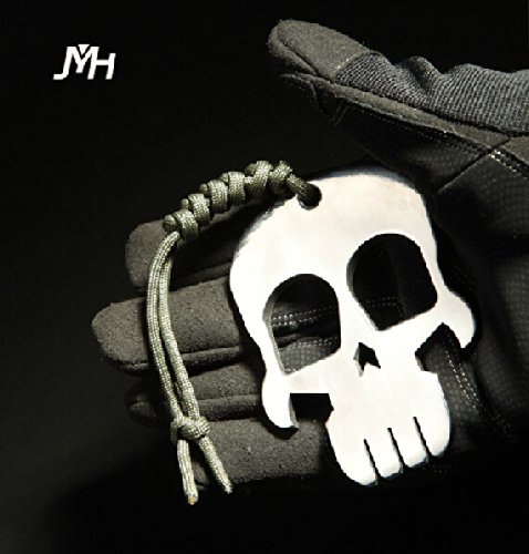 513Yzmk1o1L Skull Keychain Self Defense Emergency Survival Tool