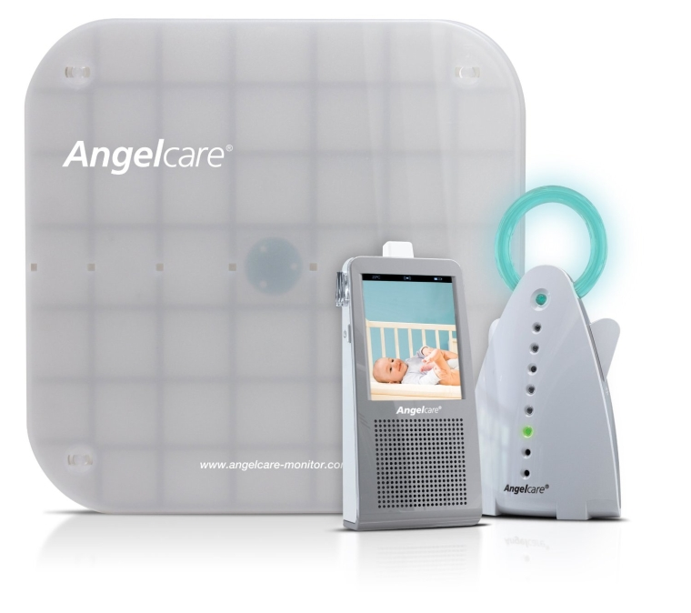 Angelcare Video Movement and Sound Monitor Graywhite