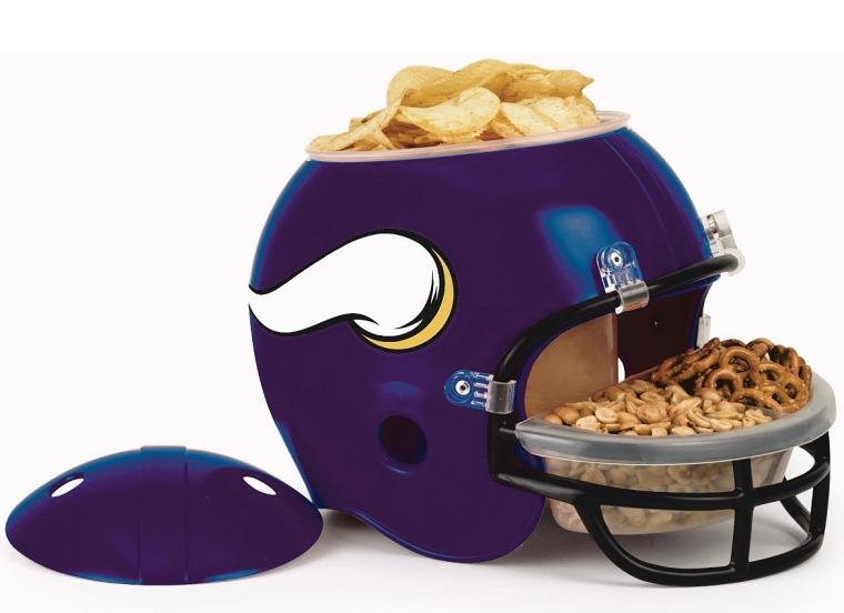 NFL Minnesota Vikings Snack Helmet