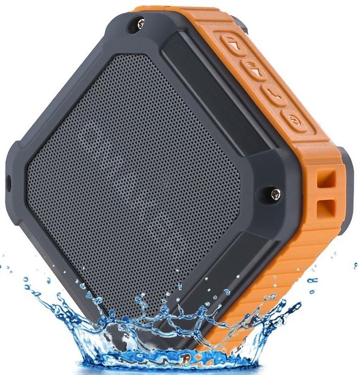 Outdoor Sport Rugged Square Design SplashProof&Shockproof Portable Bluetooth Speaker