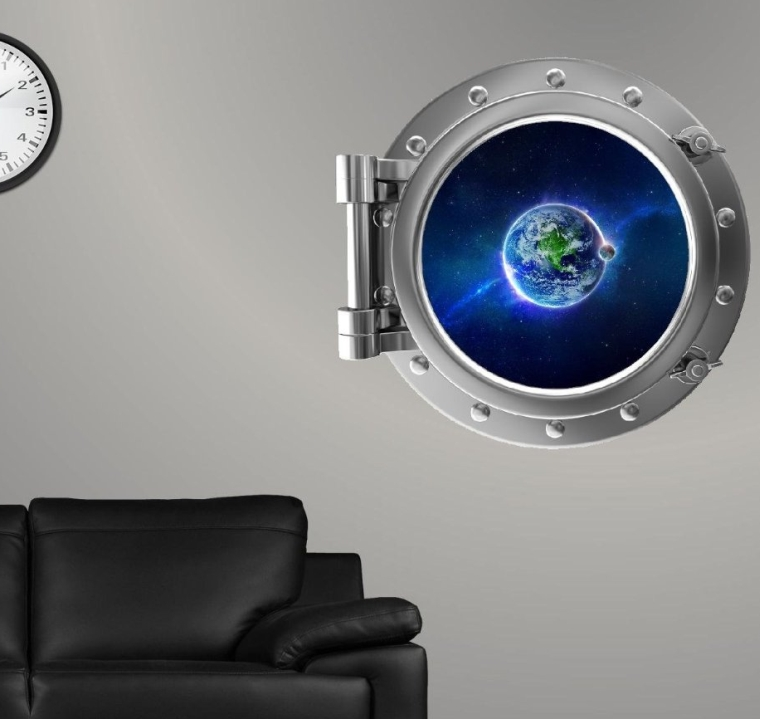 PortScape Space Window Earth
