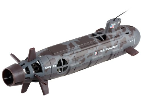 Seawolf 6-Channel 35cm RC Nuclear Submarine