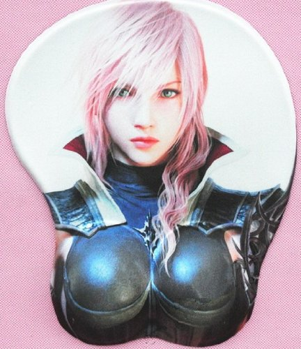 Sexy Girl Soft Big Breast 3d Silicon Mouse Pad