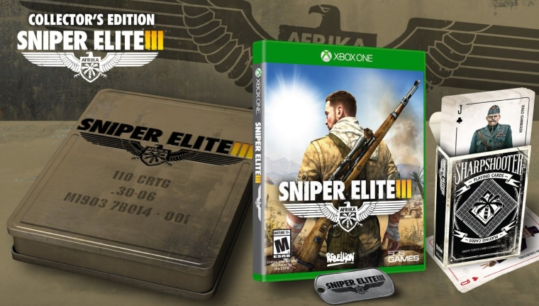 Sniper Elite III Collectors Edition Xbox One Collectors Edition
