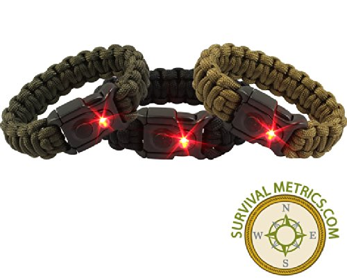 Survival Bracelet with LED Light