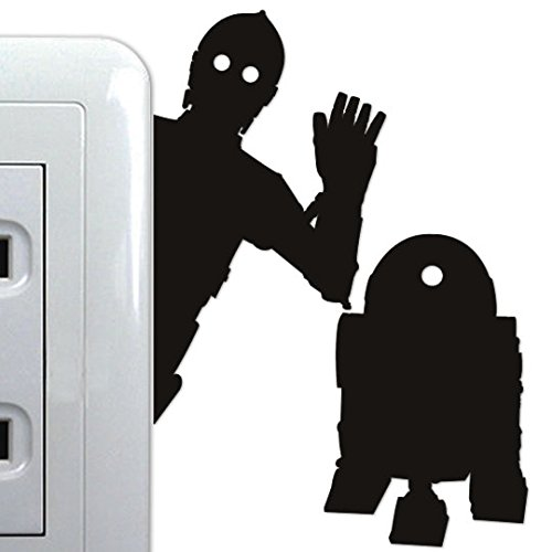 Wall Sticker Petamo STAR WARS C-3PO  R2-D2