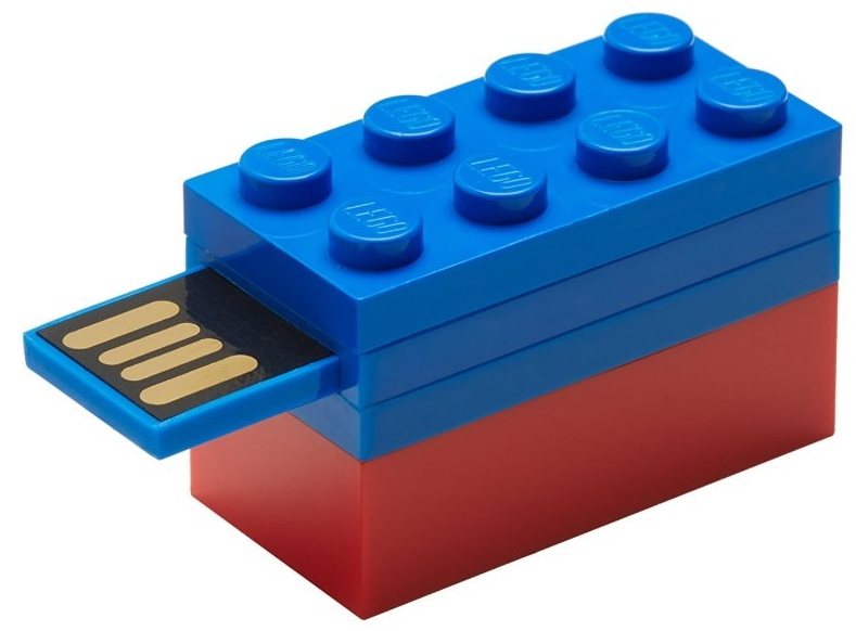 16GB Flash Drive Blue LEGO