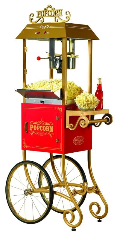 1890s Antique Popcorn Cart
