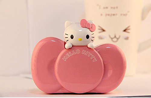 3D Hello Kitty Mobile External Power Bank Battery USB Charger