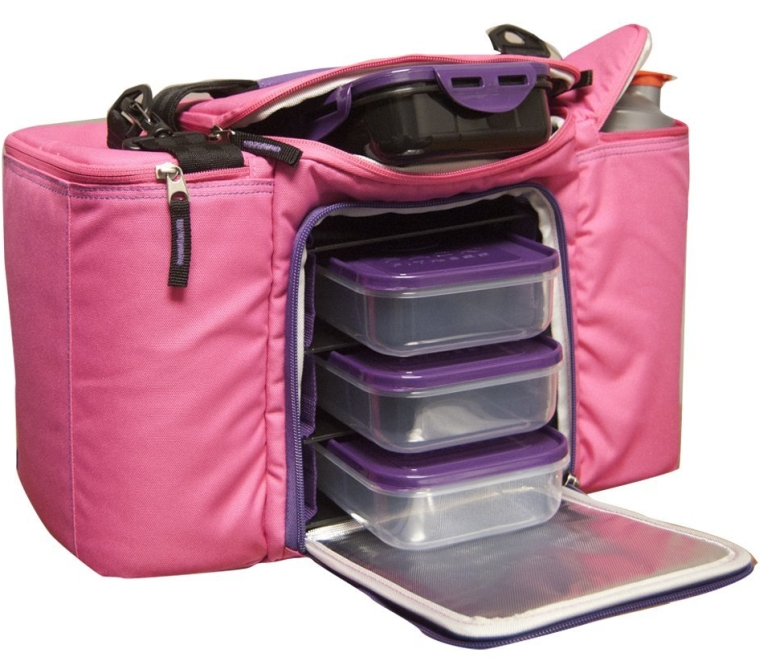 6 Pack Fitness Innovator 300 Insulated Meal Management Bag