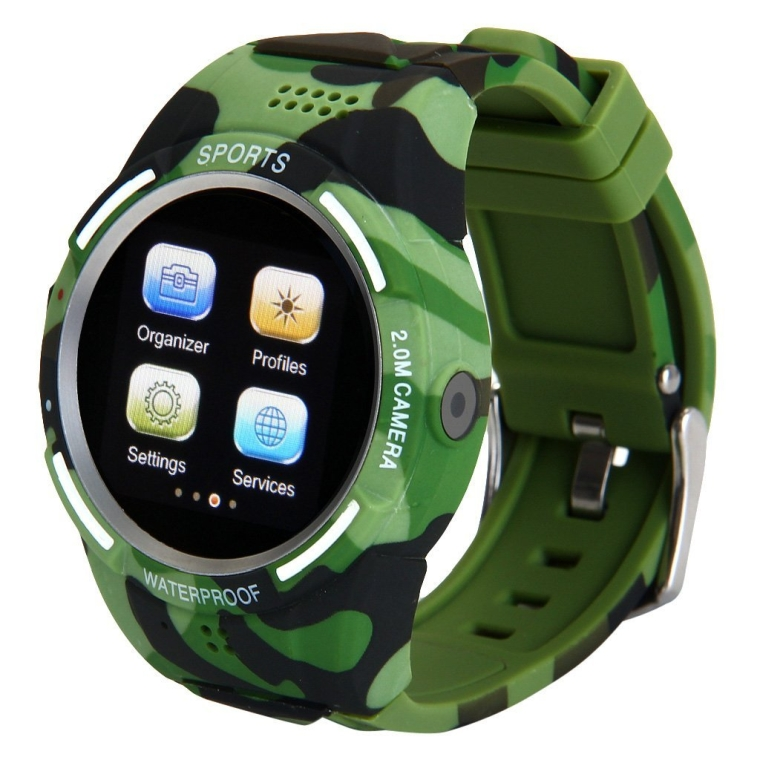 Anti-Lost Daul Bluetooth Sports Pedometer Phone Watch