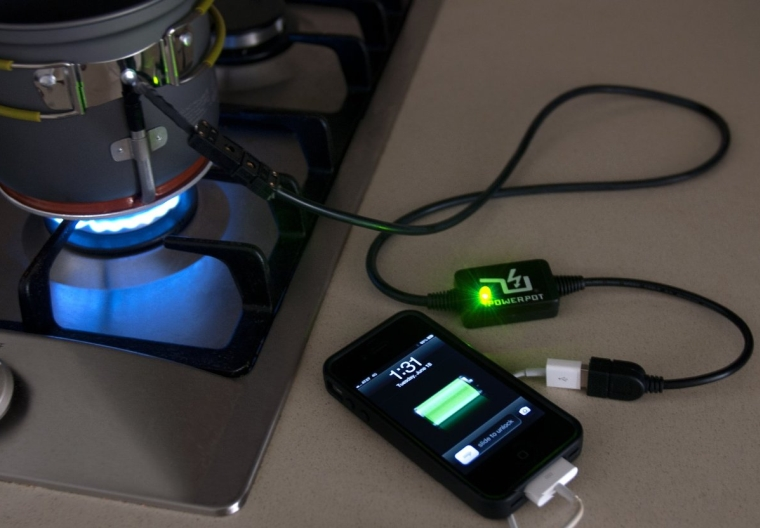 Charge Your Devices While You Cook