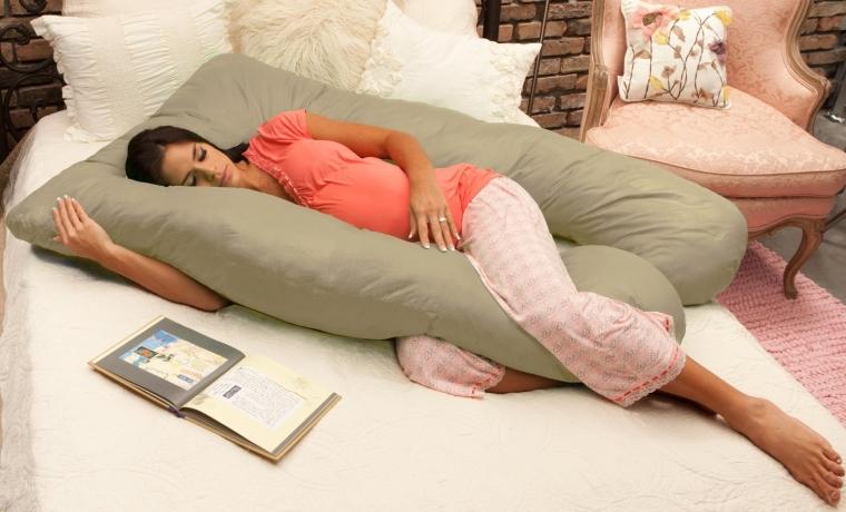 Cozy Body Pillow Stone