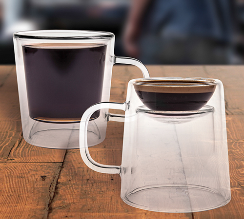DOUBLE SHOT GLASS MUG