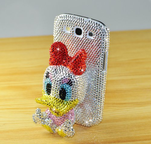 Donald Duck Swarovski Case Cover for Iphone5c